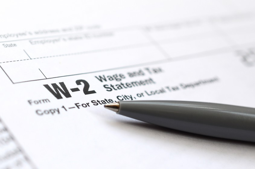 Differences in W2 employee payroll taxes